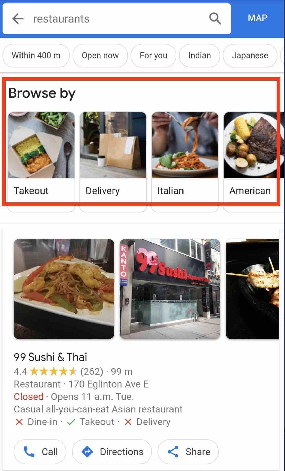 google-local-ristoranti